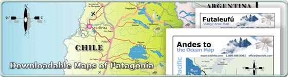 Downloadable Maps of Patagonia