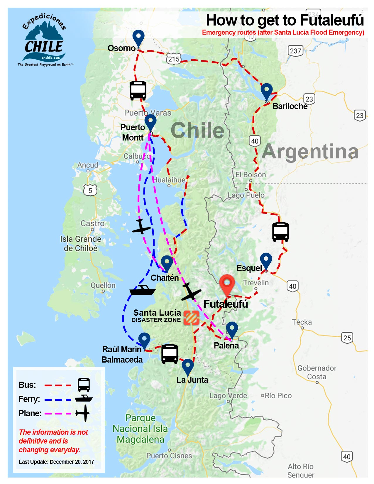 Chile Map Argentina on